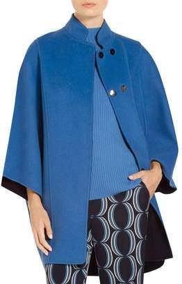 St. John Doubleface Cashmere Reversible Jacket
