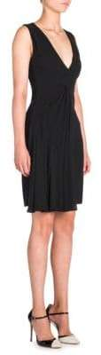 Giorgio Armani Deep V-Neck Dress