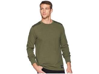Calvin Klein Jeans Long Sleeve Waffle Crew Neck Shirt