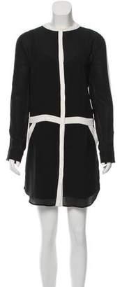 A.L.C. Silk Colorblock Dress