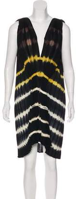 Bernhard Willhelm Wool Tie-Dye Dress