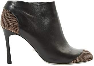 Sergio Rossi Leather mid heel