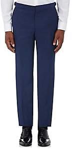 Barneys New York Burberry X Men's Wool-Mohair Tuxedo Trousers - Navy