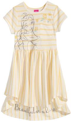 Disney Disney's Beauty & The Beast Belle Striped Dress, Little Girls