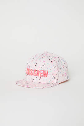 H&M Cap with Glittery Visor - Pink