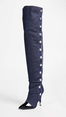 Giuseppe Zanotti Stud Thigh High Boots