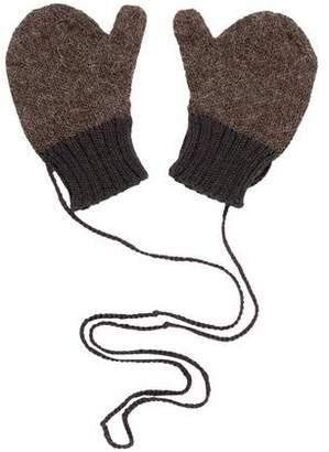 Makie Boys' Knit Textured Mittens