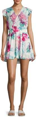 6 Shore Road Women's Georgica Floral Printed Dress