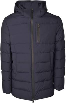 Herno Hooded Long Padded Jacket