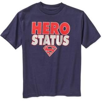 Justice League DC Comics Superman Hero Status Graphic Tee (Little Boys & Big Boys)