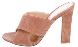 Gianvito Rossi Crossover Slide Sandals