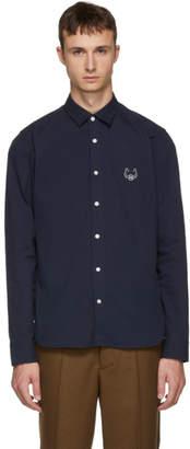 Kenzo Navy Tiger Urban Slim Shirt