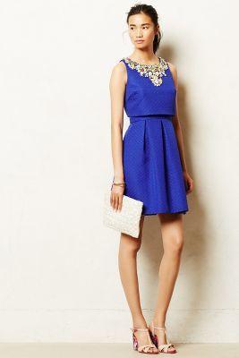 Anthropologie Moulinette Soeurs Jeweled Convertible Dress