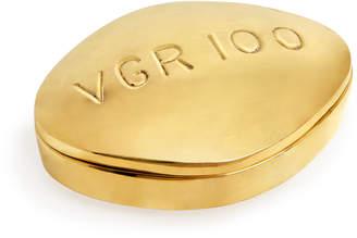 Jonathan Adler Viagra Brass Pill Box