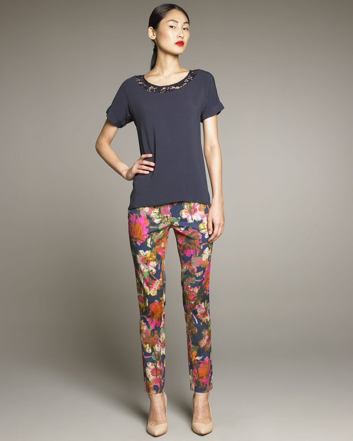 Erdem Connelly Floral Trousers