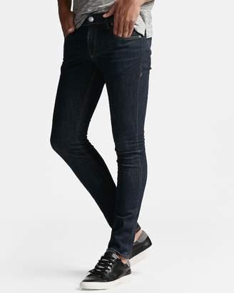 Express Super Skinny Dark Wash Stretch Jeans
