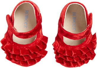 Robeez Kate Red Mary Jane Crib Shoe