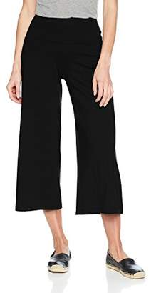 Susana Monaco Women's Allison WIDELEGGED Cropped Culotte Pant in Solid Color