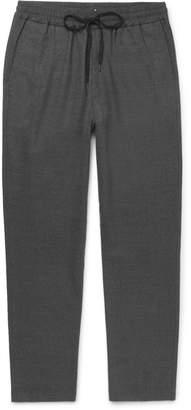 Barena Stretch-Virgin Wool Flannel Drawstring Trousers