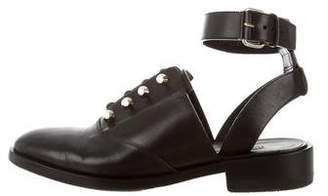 Balenciaga Studded Ankle Strap Oxfords