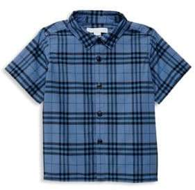 Burberry Baby Boy's Sammi Cotton Check Shirt