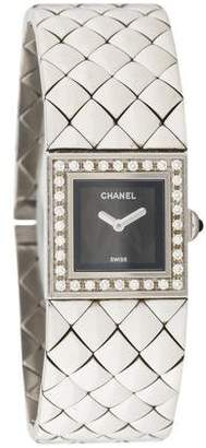 Chanel Matelassé Watch