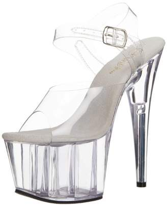Pleaser USA Women's Adore-708 Ankle-Strap Sandal