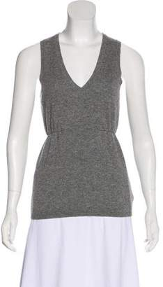 Brunello Cucinelli Wool & Silk Sleeveless Sweater
