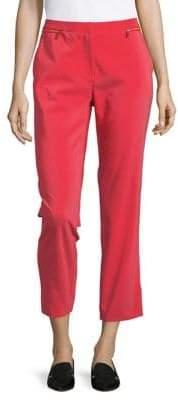 Calvin Klein Front Zipper Ankle Pants