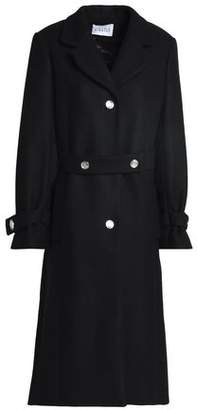 Claudie Pierlot Wool-Blend Felt Coat