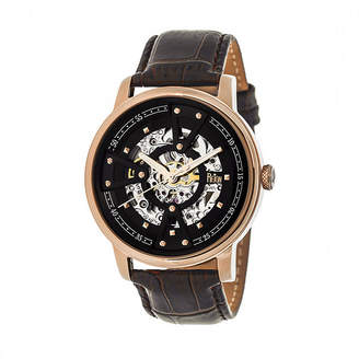 Reign Unisex Black Strap Watch-Reirn3605