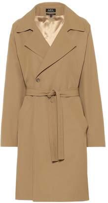 A.P.C. Bakerstreet gabardine trench coat