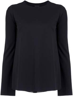 OSKLEN wrap back blouse