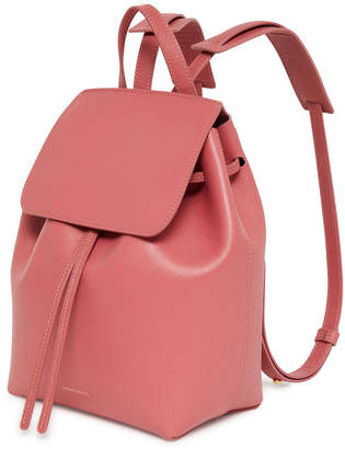 mansur gavriel mini saffiano leather backpack
