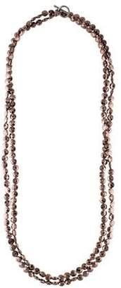 Brunello Cucinelli Long Bead Strand Necklace