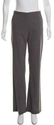Calvin Klein Collection Mid-Rise Wool Pants