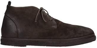 Marsèll Brown Suede Sneakers