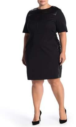 Plus Leather Dress - ShopStyle