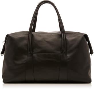 Maison Margiela Large Leather Duffle Bag