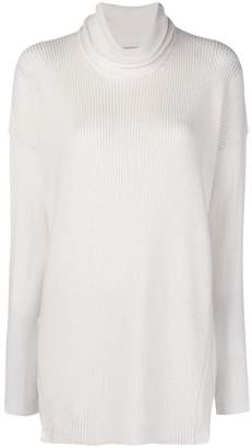 Stefano Mortari ribbed turtle neck jumper