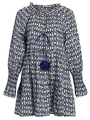 Figue Women's Bella Ikat Mini Dress