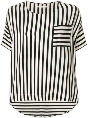 Parker Chinti & striped short-sleeved top