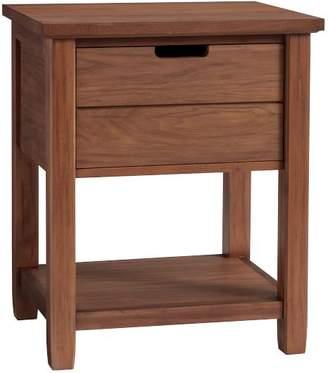 Pottery Barn Teen Sutton Bedside Table, Walnut, UPS