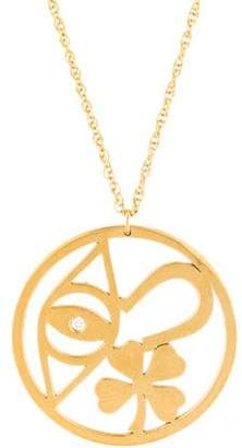 Jennifer Zeuner Jewelry Diamond Pendant Necklace