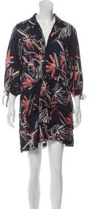Maiyet Printed Silk Dress