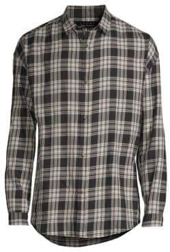 The Kooples Plaid Button-Down Shirt
