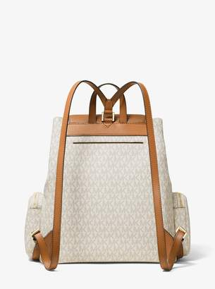 MICHAEL Michael Kors Abbey Large Logo Cargo Backpack