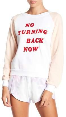 Wildfox Couture Long Raglan Sleeve Sweatshirt