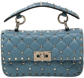 Valentino Small Spike Leather Shoulder Bag