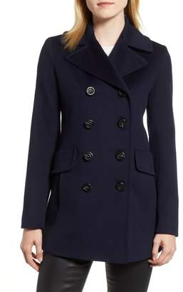 Fleurette Loro Piana Wool Peacoat
